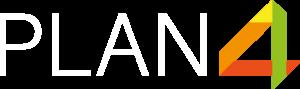 PLAN4 Logo_Weiss