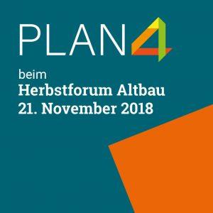 PLAN4 Gebäudecheck beim Herbstforum Altbau 2018