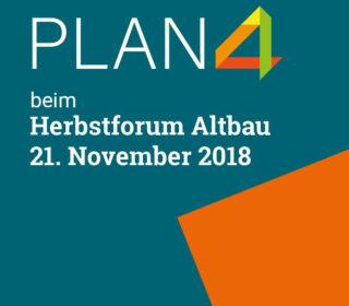 PLAN4 Gebäudecheck beim Herbstforum Altbau