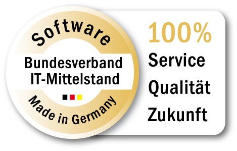 Software made in Germany Gütesiegel