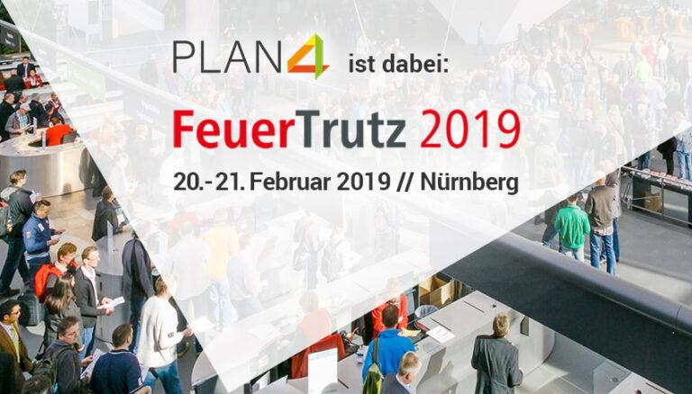 PLAN4 auf der FeuerTrutz 2019!
