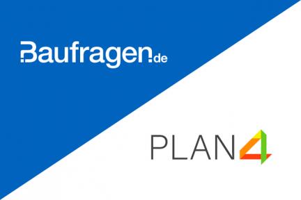 Neue Softwarepartnerschaft zwischen Baufragen.de & PLAN4