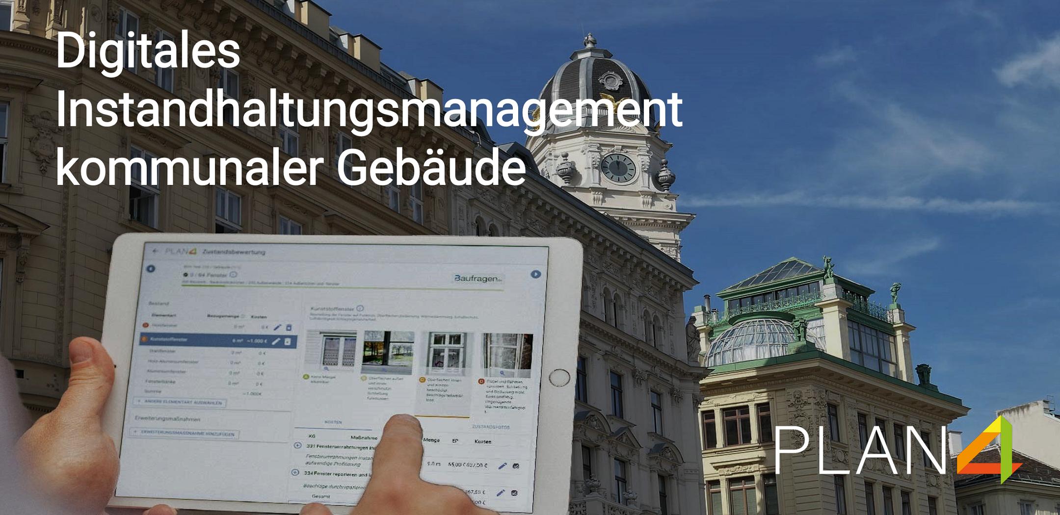 Webinar Digitales Instandhaltungsmanagement kommunaler Gebäude